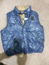 Polo Ralph Lauren Para Hombres Chaleco Chaleco Chaleco con Capucha de plumón Nuevo, Azul XL