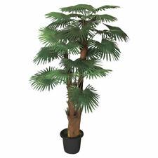 Palmizio Palma Pianta Albero Artificiale Plastica 180cm Decovego