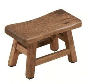 Wooden Bathing Stool Small Bench Stool Chinese Home Living Room Solid Wood Stool