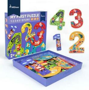 My First Puzzle Story - MiDeer NEW Numers and Nursery Rhymes