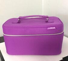 6 Makeup 10 x Clinique Purple Size 5'' x New Case Train 1JclKF