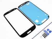 FRONTGLAS für SAMSUNG Galaxy S3 SCHWARZ Glas Display Touchscreen NEU & OVP