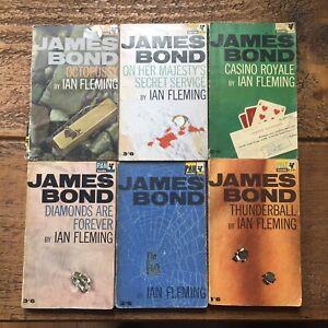 IAN FLEMING JAMES BOND BUNDLE-VINTAGE PAN BOOKS