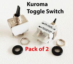 KUROMA Original Toggle Switch (on/off) Pack of 2 -Kuroma Pressure fryer