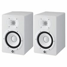 Yamaha HS7 Powered Studio Speaker Monitor (Pair) in White