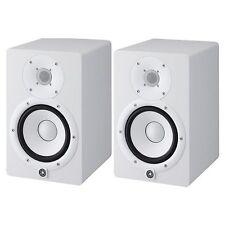 Yamaha HS7 Powered Studio Speaker Monitor (Pair) in White