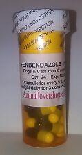 Fenbendazol Broad Spectrum Dewormer 24 Capsules,