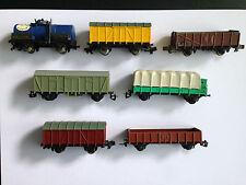 Für Rokal TT, 8 Güterwagen, ansehen, Schnäppchen !!!