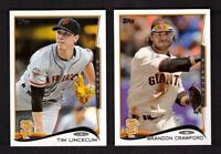 2014 Topps SAN FRANCISCO GIANTS Team Set w/ Updates 31 Cards