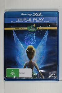 TinkerBell And The Secret Of The Wing - 3D - Blu-ray - Region ABC Tracking (D906