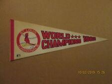 MLB St.Louis Cardinals Vintage Circa 1982 *** World Champions Baseball Pennant