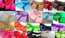 "10 yards Color Grosgrain 2"" Polyester Ribbon US Seller GR20-13 Turquoise Blue"