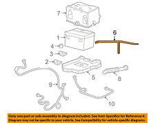 GM OEM-Battery Tray Brace 15839150