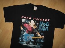 Brad Paisley Tee - 2010 Country & Western H2O World Concert Tour T Shirt Medium
