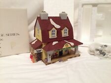 Dept 56 Heritage New England Village, 1990 Van Tassel Manor, Lighted, 5954-4