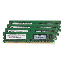 Desktop Memory Micron 8GB 4x 2GB DDR2 800Mhz PC2-6400U 240Pin Dimm Low Density