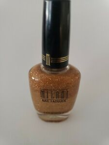 Milani Nail Laquer One Coat Glitter #525 GOLD GLITZ