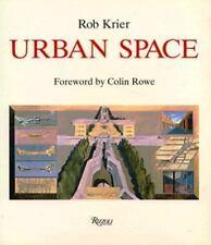 Urban Space, Rob Krier, Paperback Rizzoli
