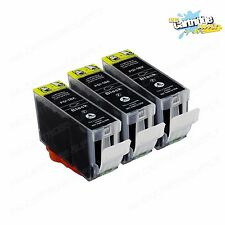 3 Pack PGI5 PGI-5 Black Ink For Canon Pixma iP3300  iP3500  MP510 MP520 MX700