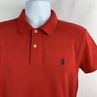 Ralph Lauren Men's Red Short Sleeve Polo Shirt Size Large L