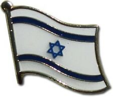 Israel Israeli Country Flag Bike Motorcycle Hat Cap lapel Pin