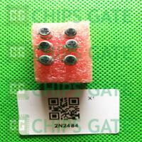 6PCS 2N2484 CAN-3 Bipolar Transistors - BJT NPN Low Lvl SS TRANS NPN 60