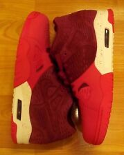 NIKE AIR TRAINER III 3 LE TEAM RED WHITE 815758 600 AGASSI TECH CHALLENGE SZ 11