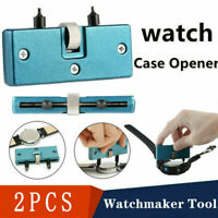 Watch Battery Change Back Case Cover Opener Remover Wrench Screw Tool Kit USA