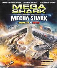 Mega Shark Versus Mecha Shark ~ Monster vs Metal ~ Blu-ray Disc ~ FREE Shipping