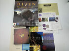 Riven The Sequel To Myst Game Pc Cd-rom Computer Game 1997 - Big Box Version