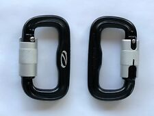 Ozone Edelrid Alloy Narrow Karabiners, Pair of Carabiners for Paragliding & Ppg