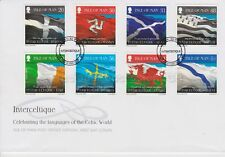 Unaddressed Isle of Man FDC First Day Cover 2008 Interceltique Celtic Languages