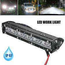 7' 18W Spot Led Light Work Bar Lamp Driving Fog Offroad Suv 4Wd Car Boat Truck