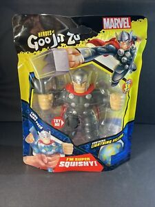 New Marvel Heroes Of Goo-Jit-Zu THOR Action Figure - Wave 3 - Super Squishy 🔨🔨