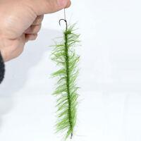 Kit 4x amo ami #8 terminale effetto erba alghe PESCA CARPA lenza 20cm HIRISI