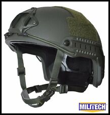 OD LG/XLG Deluxe Bullet Proof LVL IIIA Ballistic KEVLAR Helmet SEAL SOF DEVGRU
