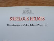 Sherlock Holmes Sidney Paget 221b Collection Adventure of the Golden Pince-Nez