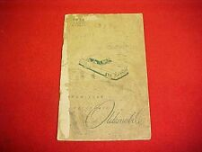 1950 ORIGINAL OLDSMOBILE OWNERS MANUAL SERVICE GUIDE BOOK OEM OLDS 50 GLOVEBOX