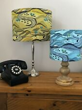 20cm/30cm LAMP OR CEILING SHADES IN LEWIS AND IRENE COTTON FABRIC 'LITTONDALE'