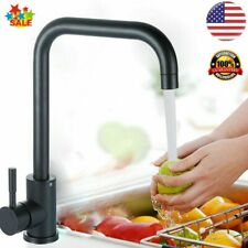 Kitchen Basin Sink 360 ° Swivel Pull Out Faucet Spray Hot & Cold Water Mixer Tap