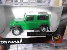 LAND Range Rover 90 Defender 4x4 geschlossen kurz grün Cararama Sonderpreis 1:43