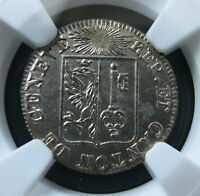 SWITZERLAND - GENEVA 1 Sol 1825 NGC MS 64 UNC
