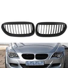 Matte Black Front Grille for BMW E63 E64 LCI M6 630 645 650 Convertible