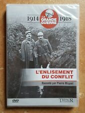 DVD 1914 / 1918 LA GRANDE GUERRE - L'ENLISEMENT DU CONFLIT - NEUF