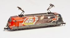88687 Marklin Z-scale Electric Loco Bayer Leverkusen 5 pole motor, LED Lights