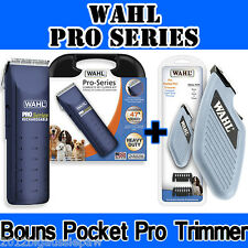 Wahl Pro Series Clipper Kit Bonus Pet Pocket Pro Trimmer