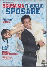 Dvd **SCUSA MA TI VOGLIO SPOSARE** con Raoul Bova di F. Moccia nuovo 2010