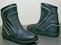 Vulcan V310 Mens Leather Motorcycle Troop Sport Boots 10.5