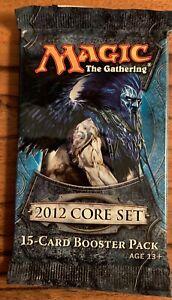 MTG Magic the Gathering 2012 Core Set Pack NIP Free Shipping