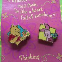 Hallmark - Winnie the Pooh & Piglet 2 Pin Set Disney Pin 18726